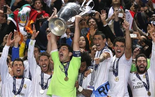 Реал Мадрид Real Madrid выиграл Лигу Чемпионов Champions League 2013-2014