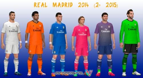 Полный, основной состав футбольного клуба Реал Мадрид Real Madrid сезон 2014-2015 . Фото и номера футболистов.