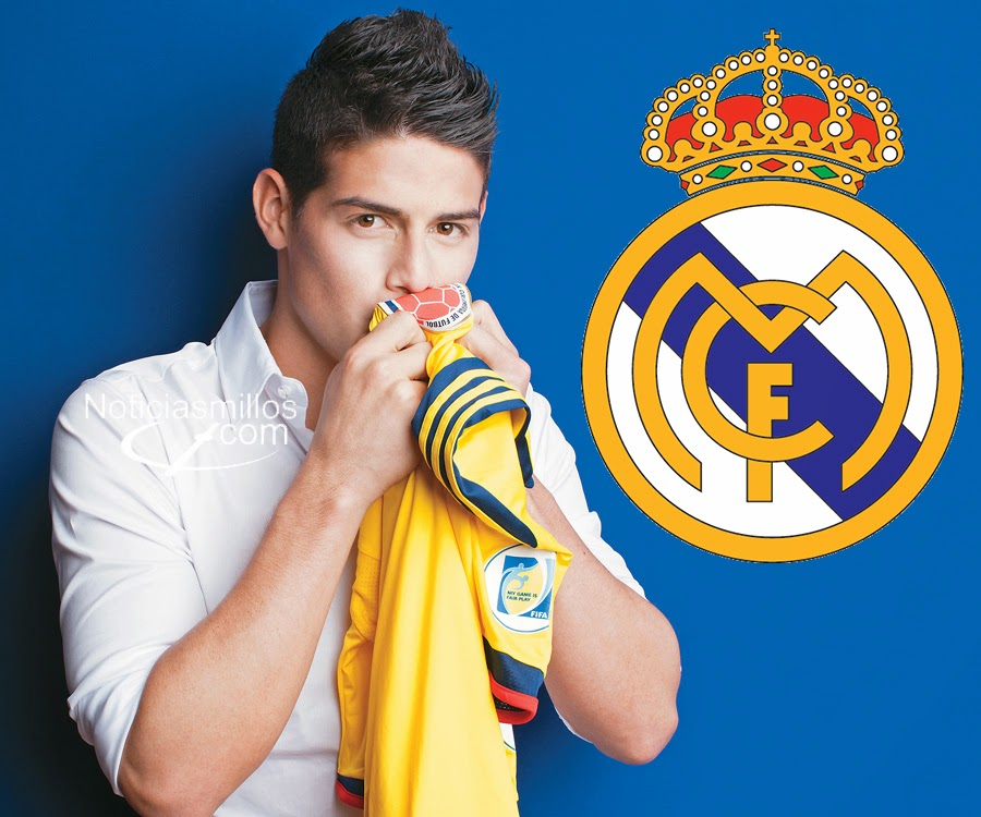 James rodr real madrid