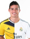 Состав Реал Мадрид  сезон 2014-2015 Джеймс(Хамес) James Номер 10