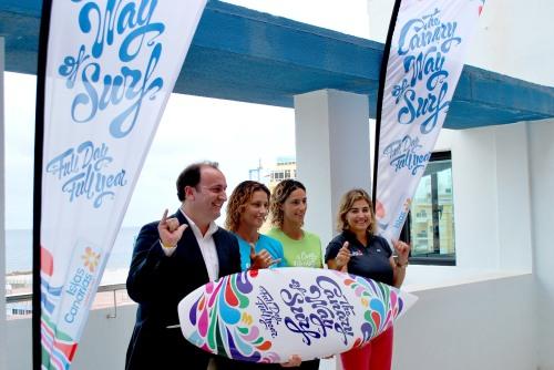 Новости туризма в Испании - Правительство Канарских островов представило новый сайт для любителей серфинга