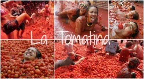 Ежегодный Праздник (фестиваль) Ла Томатина La Tomatina (праздник помидоров) в городе Буньоль Buñol , в этом  2015 году начнется 26 августа