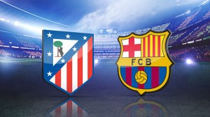 ФК Барселона FC Barcelona - Атлетико Мадрид Atlético de Madrid Лига ББВА Liga BBVA сезон 2015-2016.