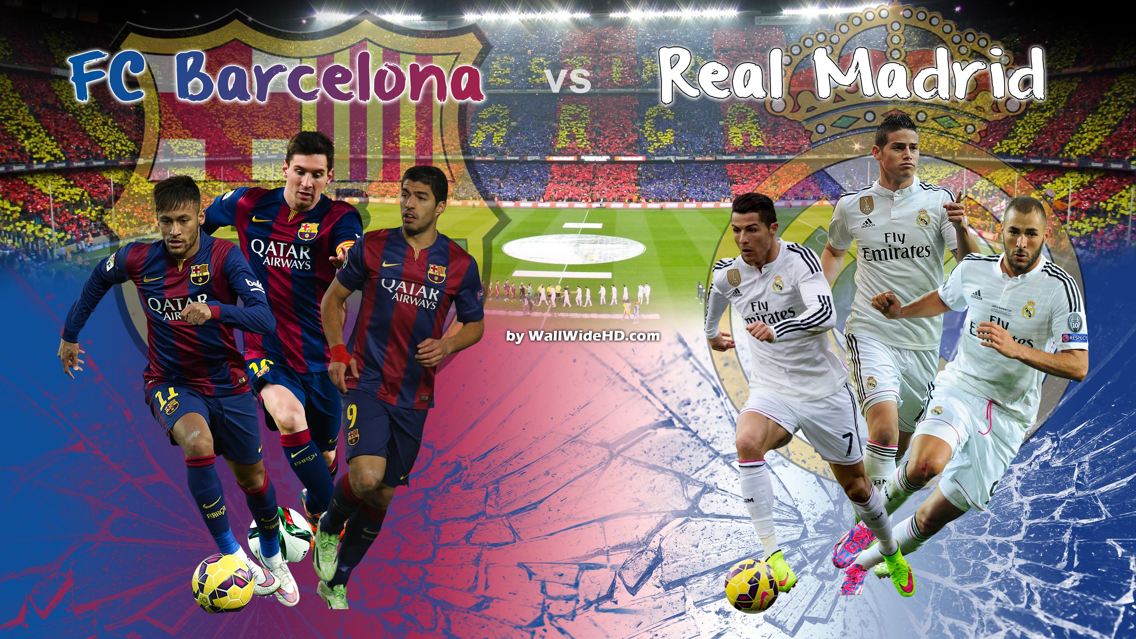 Сегодня вечером «Барселона» и «Реал» сыграют в «класико» испанского футбола