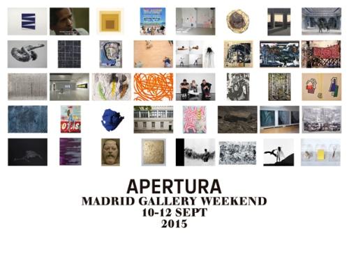 """Новости культуры в Испании - В Мадриде 10-12 сентября 2015 года пройдет ежегодная выставка современного искусства """"Apertura Madrid Gallery Weekend"""""""