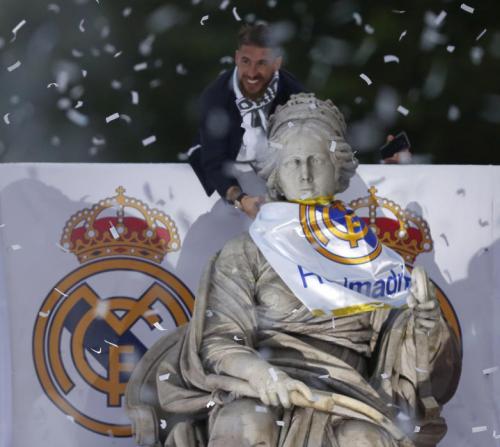 Празднование победы Реал Мадрид в финале Лиги Чемпионов 2015-2016 над Атлетико Мадрид 1-1(5-3) Видео