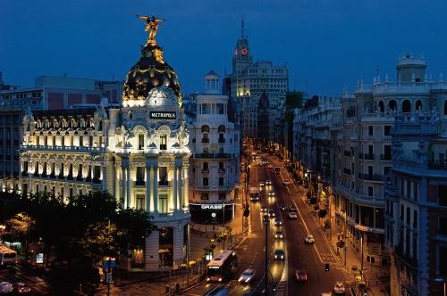 Новости туризма в Испании - Статистика туризма Испания , Мадрид вошел в тройку город Европы по увеличению потока туристов.