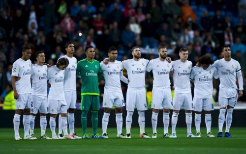 Полный, основной состав футбольного клуба Реал Мадрид Real Madrid сезон 2016-2017 . Фото и номера футболистов.