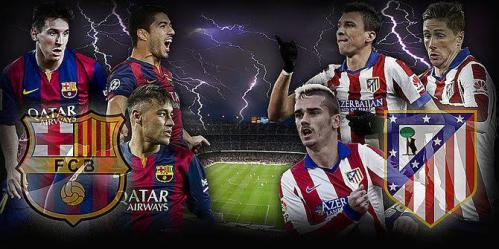 Билеты на футбол Кубок Испании , Кубок Короля Copa del Rey 2016-2017. Полуфиналы Атлетико Мадрид - Фк Барселона 1 и 7 февраля 2017 года.