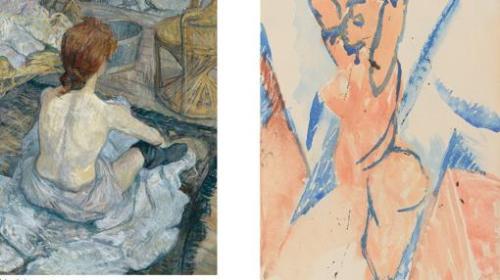 Выставка Пикассо/Лотрек, Picasso/Lautrec в Музее Тиссен Борнемиса El Museo Thyssen-Bornemisza в Мадриде