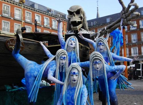 Туры на Карнавал в Мадрид . Карнавал в Мадриде в 2018 году пройдет с 9 - 14 февраля 2018 года