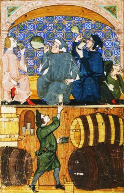 История виноделия в Испании, вестготы и мусульмане.