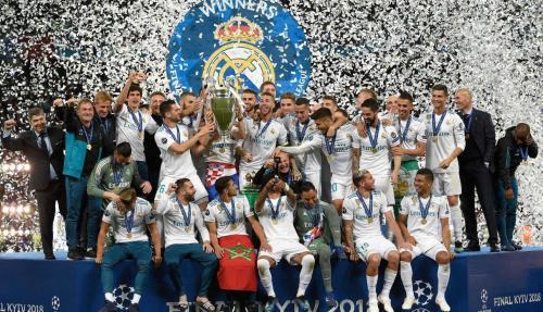 Празднование Победы Реал Мадрид в Лиге Чемпионов сезона 2017-2018 годы Видео