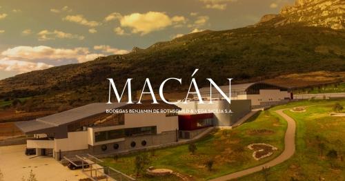 Винодельня Бодегас Макан Bodegas Macán проект Семьи Ротшильдов Rothschild и Вега Сицилия Vega Sicilia.