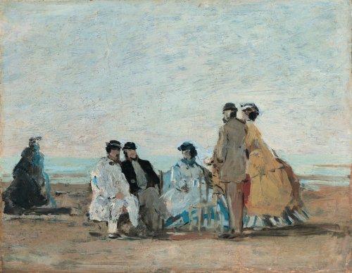 Выставка Моне Monet/ Буден Boudin откроется 26 июня 2018 года в Музее Тиссен-Бонемиса в Мадриде