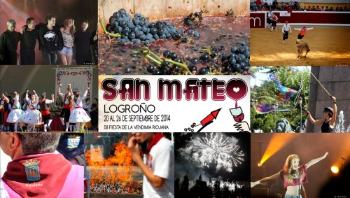 Праздник урожая , праздник молодого вина «Фиестас де ла Вендимиа Fiestas de la Vendimia», в столице Риохи Логроньо его еще называют « Праздником Святого Матвея Las Fiestas de San Mateo»