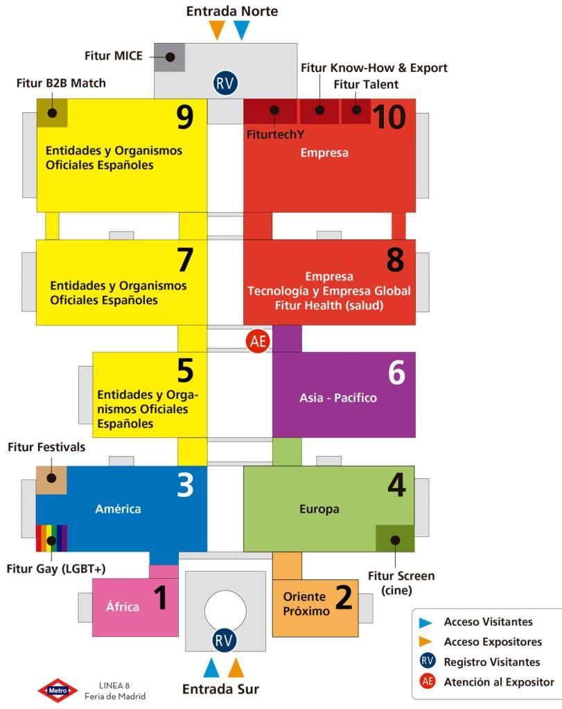 Новости Туризма в Испании-Выставки в Испании . Туристическая выставка ФИТУР 2020 FITUR 2020 в Мадриде 22-26 января 2020 года