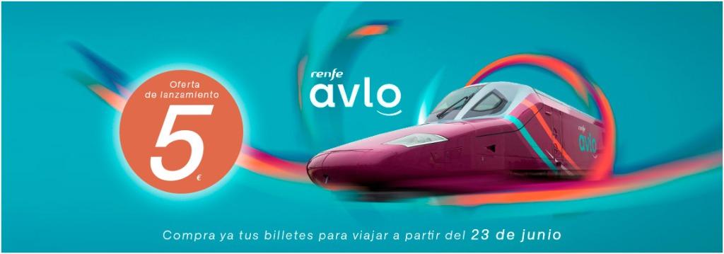 Из Мадрида в Барселону на скоростном поезде Авло Avlo , цена от  5 евро.