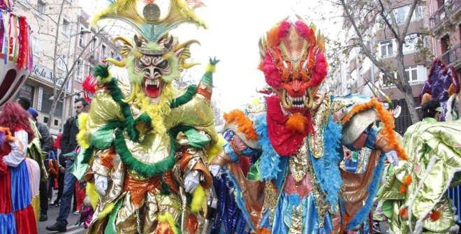 Карнавал в Мадриде , с 12 по 17 февраля 2021 года.